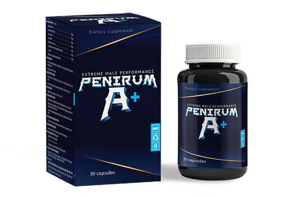 Penirum A+ Thuốc tăng kích thước dương vật, kéo dài quan hệ dạng viên uống